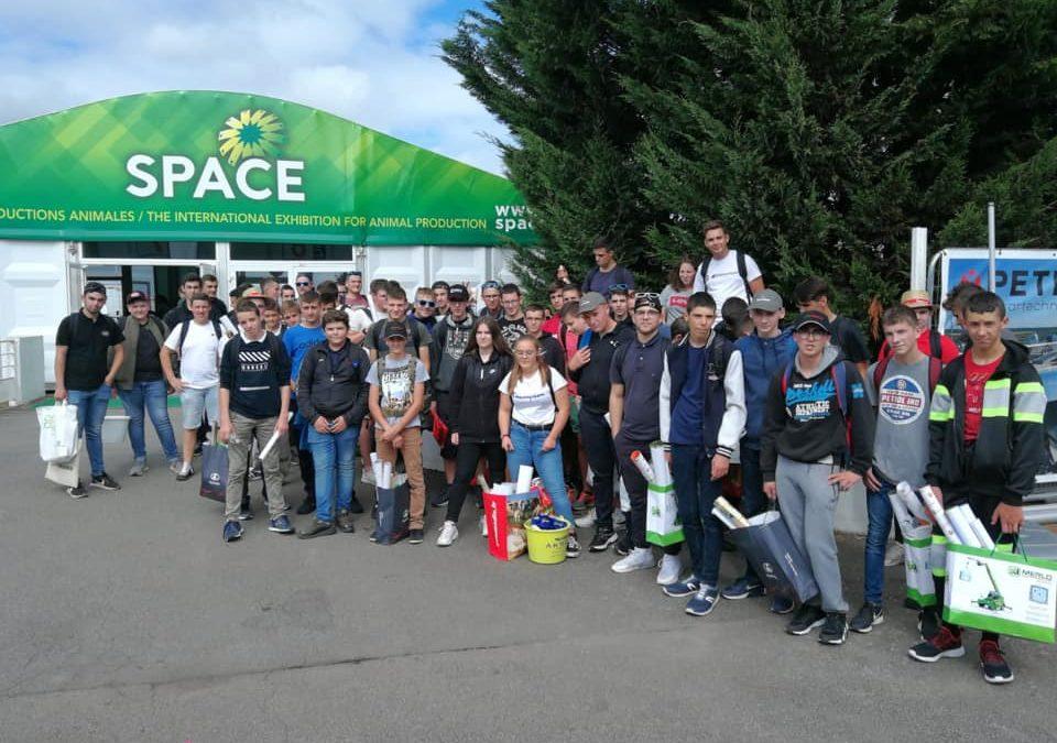 MFR-CFA Chemillé : Visite du SPACE