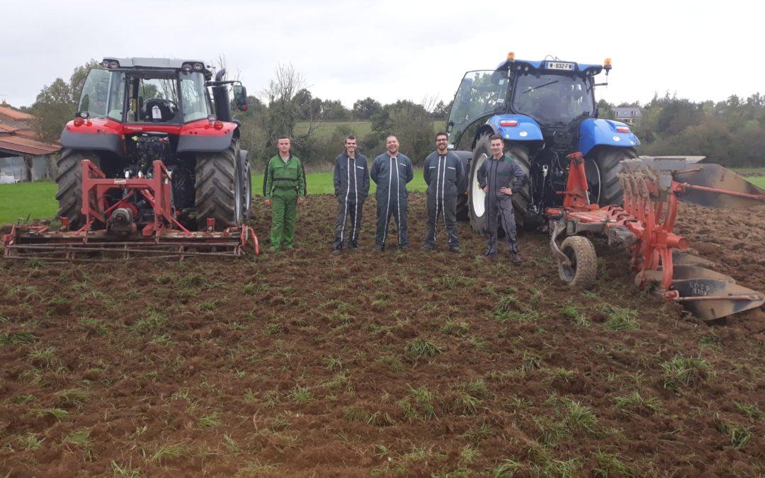 MFR-CFA Chemillé : Formation adulte CQP Conducteur d'engins agricoles