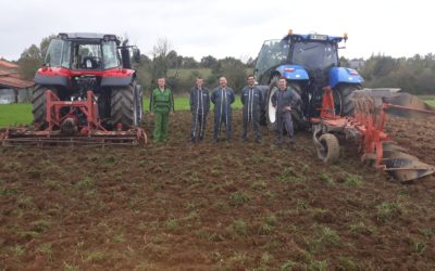 MFR-CFA Chemillé : Formation adulte CQP Conducteur d'engins agricoles