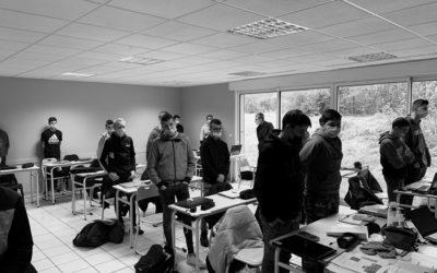 MFR-CFA Chemillé : Hommage à Samuel Paty